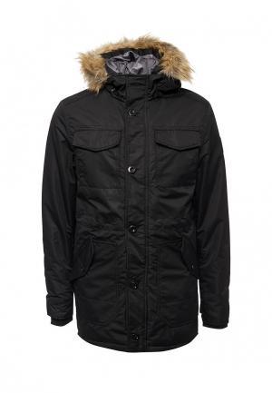 Куртка утепленная Staff Jeans & Co.. Цвет: черный