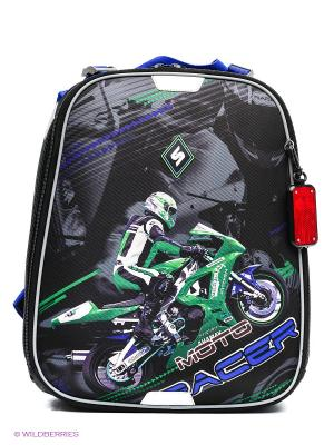 Рюкзак STERNBAUER. Цвет: синий, черный, зеленый