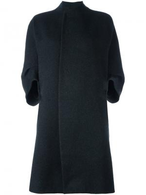 Пальто с рукавами три четверти Toogood. Цвет: чёрный