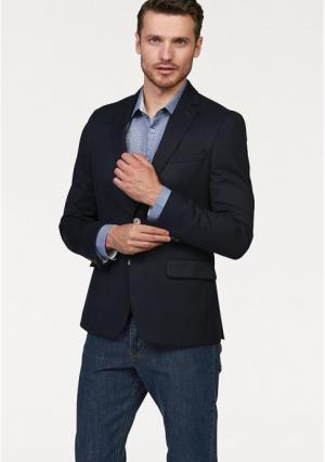 Пиджак Class International. Цвет: темно-синий фактурный