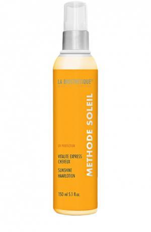 Лосьон для защиты и восстановления поврежденных солнцем волос La Biosthetique. Цвет: бесцветный