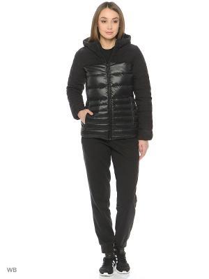 Куртка COZY DOWN JACKET Adidas. Цвет: черный