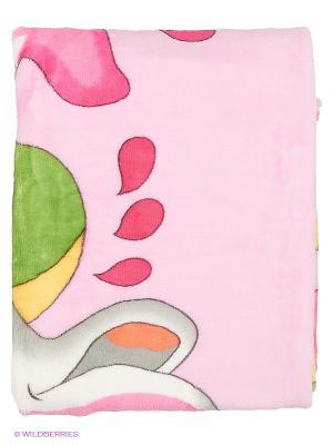 Плед детский  с рисунком Наша Мама. Цвет: розовый