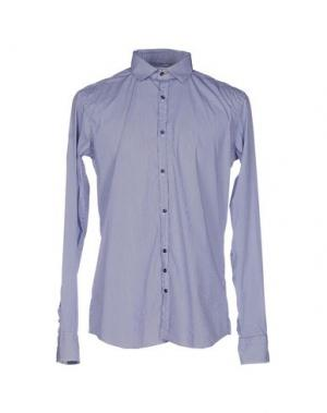 Pубашка AGLINI. Цвет: синий