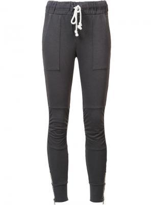 Спортивные брюки NSF. Цвет: серый
