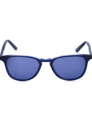 Солнцезащитные очки Olivier Krewe Du Optic. Цвет: синий
