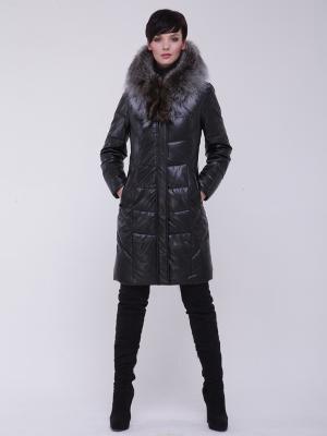Пальто утепленное CATTAIL WILLOW. Цвет: черный