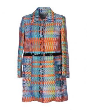 Легкое пальто GIADA BENINCASA. Цвет: оранжевый