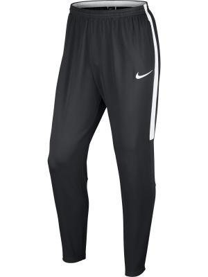 Брюки M NK DRY ACDMY PANT KPZ Nike. Цвет: серый, белый