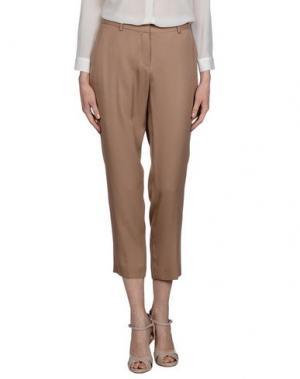 Повседневные брюки TARA JARMON. Цвет: хаки
