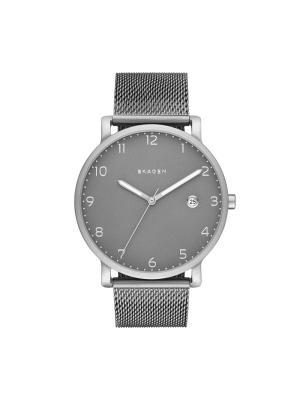 Часы SKAGEN. Цвет: серебристый, серый