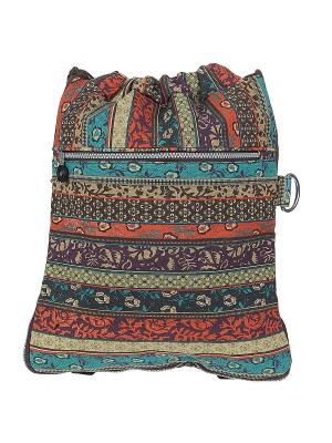 Рюкзак Migura. Цвет: коричневый, бежевый, бирюзовый
