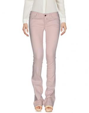 Повседневные брюки KAOS JEANS. Цвет: розовый