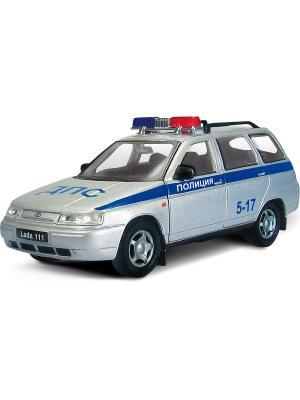 Машина LADA 111 полиция AUTOTIME. Цвет: серебристый