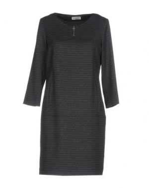 Короткое платье ROSSO35. Цвет: серый