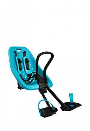 Велокресло детское Thule. Цвет: голубой