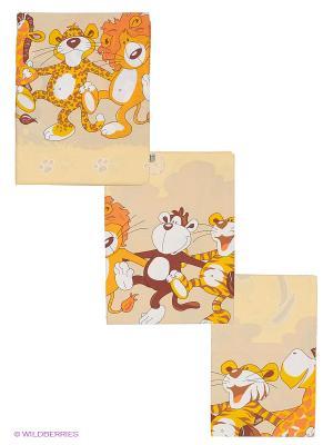 Комплект Африка Сонный гномик. Цвет: желтый, белый, коричневый, оранжевый