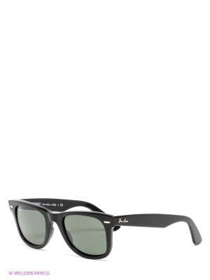 Очки солнцезащитные WAYFARER Ray Ban. Цвет: черный