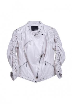 Куртка Albertini Collezione. Цвет: белый