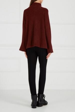Черные брюки со штрипками Adolfo Dominguez. Цвет: none