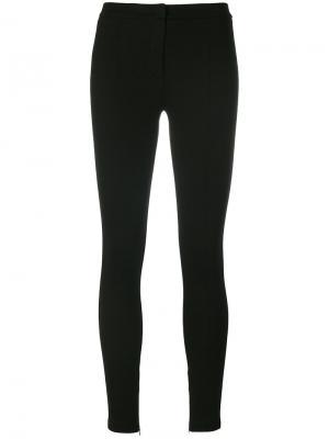 Облегающие брюки Sportmax. Цвет: чёрный