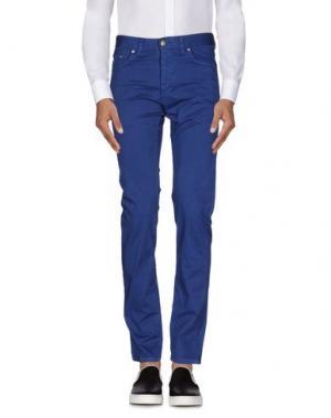 Повседневные брюки ALV ANDARE LONTANO VIAGGIANDO. Цвет: синий