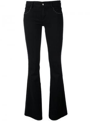 Расклешенные джинсы Syrena The Seafarer. Цвет: чёрный