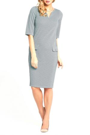 Офисное платье Vittoria Vicci. Цвет: зеленый