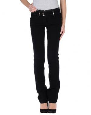 Повседневные брюки ROBERTA SCARPA. Цвет: черный