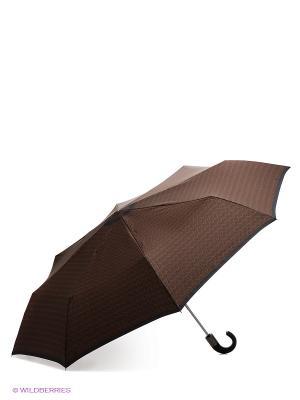 Зонт Zest. Цвет: антрацитовый, светло-коричневый