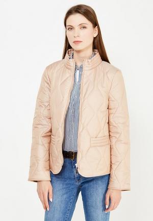 Куртка утепленная Escada Sport. Цвет: бежевый