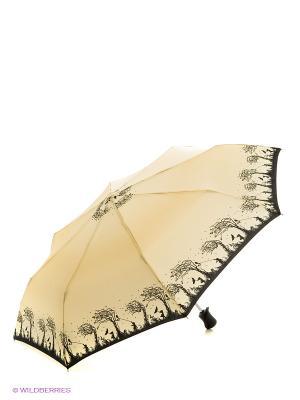 Зонт Fulton. Цвет: бежевый, черный
