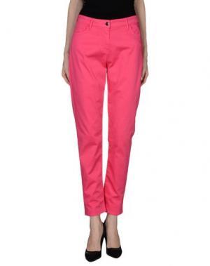 Повседневные брюки BARONI. Цвет: светло-фиолетовый