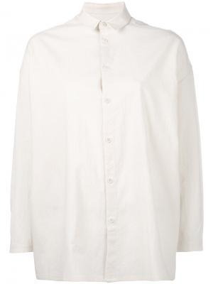 Классическая рубашка Toogood. Цвет: телесный