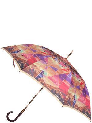 Зонт Eleganzza. Цвет: индиго, коричневый, малиновый