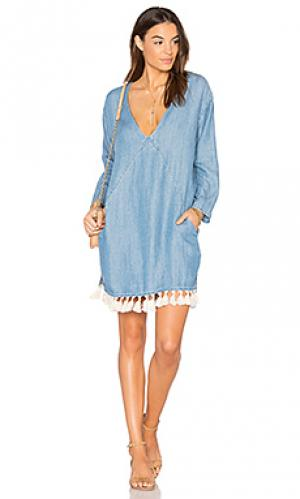 Платье elena Rails. Цвет: синий