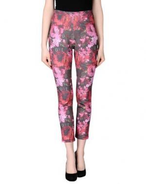 Повседневные брюки LEITMOTIV. Цвет: красный