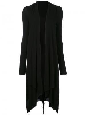 Draped coat Masnada. Цвет: чёрный