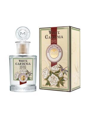 White Gardenia Туалетная вода 100 мл, для женщин Monotheme. Цвет: кремовый