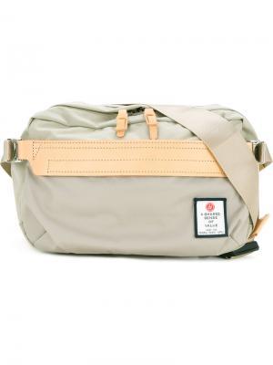Нейлоновая поясная сумка Hidensity Cordura As2ov. Цвет: коричневый