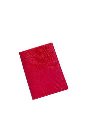 Обложка для документов водителя BEFLER. Цвет: красный
