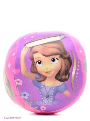 Мяч мягкий София прекрасная John. Цвет: сиреневый