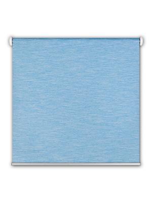 Миниролл blackout Штрих голубой 60х175 DECOFEST. Цвет: голубой