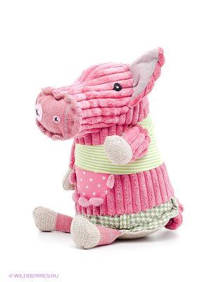 Игрушка Свинка Deglingos. Цвет: розовый, светло-зеленый
