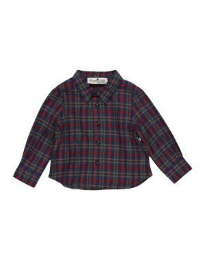 Pубашка LE PETIT COCO. Цвет: темно-синий