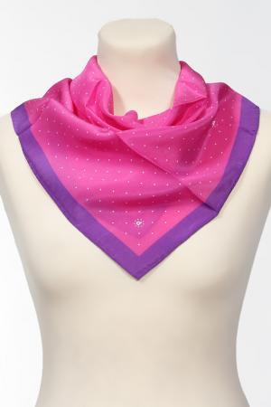 Платок Pollini. Цвет: розовый, фиолетовый