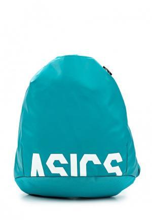 Мешок ASICS. Цвет: бирюзовый