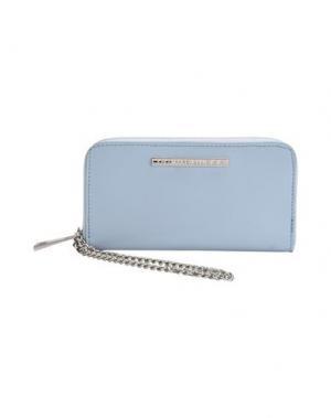 Бумажник MARC ELLIS. Цвет: небесно-голубой