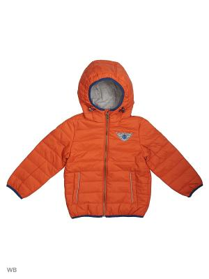 Куртка SELA. Цвет: оранжевый