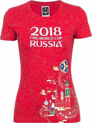 Футболка женская 2018 FIFA World Cup Russia™ no brand